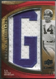 2009 Upper Deck Icons Immortal Lettermen #ILYT Y.A. Tittle/104/(Letters spell out GIANTS/ Total print run 624)