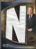 2009 Upper Deck Icons Movie Lettermen #MLAH Anthony Michael Hall/45/46/(Letters spell out JOHNNY WALKER/ Total