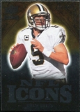2009 Upper Deck Icons NFL Icons Silver #ICBR Drew Brees /450