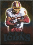 2009 Upper Deck Icons NFL Icons Silver #ICCP Clinton Portis /450