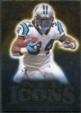 2009 Upper Deck Icons NFL Icons Silver #ICDI DeAngelo Williams /450