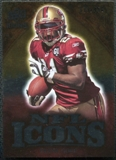 2009 Upper Deck Icons NFL Icons Silver #ICFG Frank Gore /450