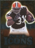 2009 Upper Deck Icons NFL Icons Silver #ICJL Jamal Lewis /450