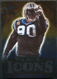 2009 Upper Deck Icons NFL Icons Silver #ICJP Julius Peppers /450