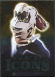 2009 Upper Deck Icons NFL Icons Silver #ICLT LaDainian Tomlinson /450
