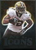 2009 Upper Deck Icons NFL Icons Silver #ICMC Marques Colston /450