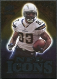 2009 Upper Deck Icons NFL Icons Silver #ICVJ Vincent Jackson /450