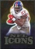 2009 Upper Deck Icons NFL Icons Gold #ICBA Brandon Jacobs /199