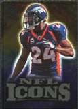 2009 Upper Deck Icons NFL Icons Gold #ICCB Champ Bailey /199