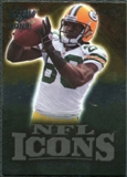 2009 Upper Deck Icons NFL Icons Gold #ICDD Donald Driver /199