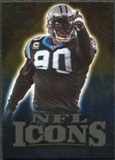 2009 Upper Deck Icons NFL Icons Gold #ICJP Julius Peppers /199