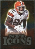 2009 Upper Deck Icons NFL Icons Gold #ICKW Kellen Winslow Jr. /199