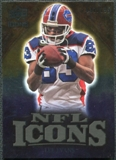 2009 Upper Deck Icons NFL Icons Gold #ICLE Lee Evans /199
