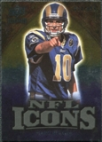 2009 Upper Deck Icons NFL Icons Gold #ICMB Marc Bulger /199