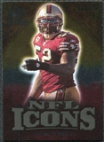 2009 Upper Deck Icons NFL Icons Gold #ICPW Patrick Willis /199