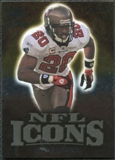 2009 Upper Deck Icons NFL Icons Gold #ICRB Ronde Barber /199