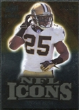 2009 Upper Deck Icons NFL Icons Gold #ICRU Reggie Bush /199
