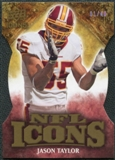 2009 Upper Deck Icons NFL Icons Die Cut #ICJT Jason Taylor /40