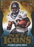 2009 Upper Deck Icons NFL Icons Die Cut #ICMJ Maurice Jones-Drew /40