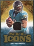 2009 Upper Deck Icons NFL Icons Jerseys #ICDG David Garrard /299