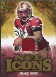 2009 Upper Deck Icons NFL Icons Jerseys #ICFG Frank Gore /299