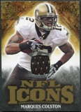 2009 Upper Deck Icons NFL Icons Jerseys #ICMC Marques Colston /299
