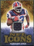 2009 Upper Deck Icons NFL Icons Jerseys #ICML Marshawn Lynch /299