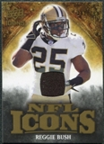 2009 Upper Deck Icons NFL Icons Jerseys #ICRU Reggie Bush /299