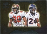 2009 Upper Deck Icons NFL Reflections Silver #RFBB Champ Bailey Ronde Barber /450