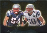 2009 Upper Deck Icons NFL Reflections Silver #RFBV Mike Vrabel Tedy Bruschi /450