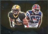 2009 Upper Deck Icons NFL Reflections Silver #RFCE Lee Evans Marques Colston /450