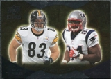 2009 Upper Deck Icons NFL Reflections Silver #RFMW Ben Watson Heath Miller /450