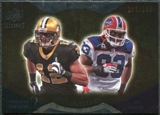 2009 Upper Deck Icons NFL Reflections Gold #RFCE Lee Evans Marques Colston /199