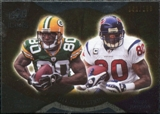 2009 Upper Deck Icons NFL Reflections Gold #RFDJ Andre Johnson Donald Driver /199
