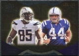2009 Upper Deck Icons NFL Reflections Gold #RFGC Antonio Gates Dallas Clark /199