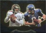 2009 Upper Deck Icons NFL Reflections Gold #RFGH Jeff Garcia Matt Hasselbeck /199