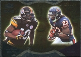2009 Upper Deck Icons NFL Reflections Gold #RFHH Devin Hester Santonio Holmes /199