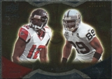 2009 Upper Deck Icons NFL Reflections Gold #RFJC Michael Jenkins Ronald Curry /199