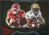 2009 Upper Deck Icons NFL Reflections Gold #RFJM Deuce McAllister Larry Johnson /199