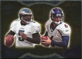 2009 Upper Deck Icons NFL Reflections Gold #RFMC Donovan McNabb Jay Cutler /199