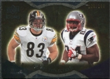2009 Upper Deck Icons NFL Reflections Gold #RFMW Ben Watson Heath Miller /199