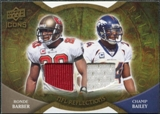 2009 Upper Deck Icons NFL Reflections Jerseys #RFBB Champ Bailey Ronde Barber /99