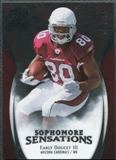 2009 Upper Deck Icons Sophomore Sensations Silver #SSED Early Doucet /450