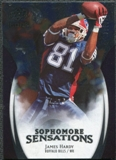 2009 Upper Deck Icons Sophomore Sensations Silver #SSJH James Hardy /450