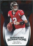 2009 Upper Deck Icons Sophomore Sensations Silver #SSMR Matt Ryan /450