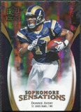2009 Upper Deck Icons Sophomore Sensations Gold #SSDA Donnie Avery /130