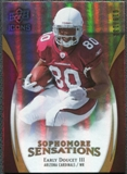 2009 Upper Deck Icons Sophomore Sensations Gold #SSED Early Doucet /130