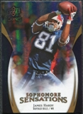 2009 Upper Deck Icons Sophomore Sensations Gold #SSJH James Hardy /130