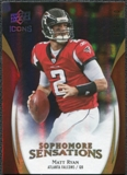 2009 Upper Deck Icons Sophomore Sensations Gold #SSMR Matt Ryan /130