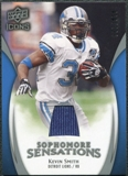 2009 Upper Deck Icons Sophomore Sensations Jerseys #SSKS Kevin Smith /299